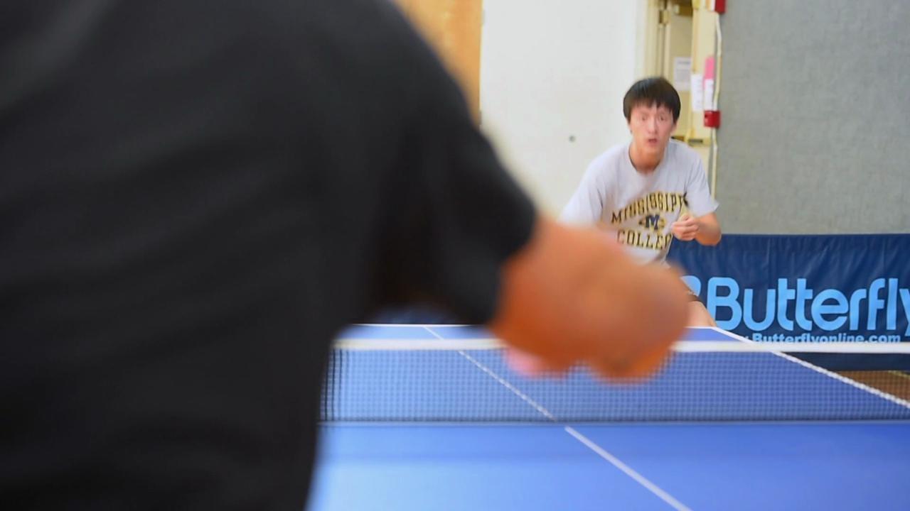 Yichi Zhang Table Tennis National Singles Champion