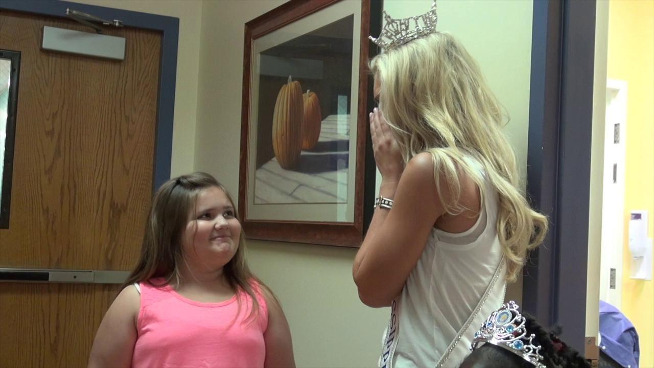 Miss Mississippi visits Batson Children's Hospital