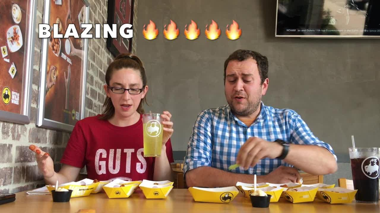 We tried Buffalo Wild Wings' hottest flavors and survived... barely