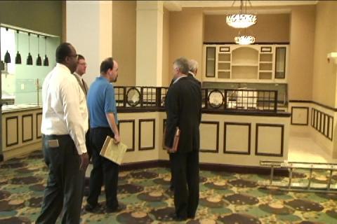 File video: Watkins gives tour of development