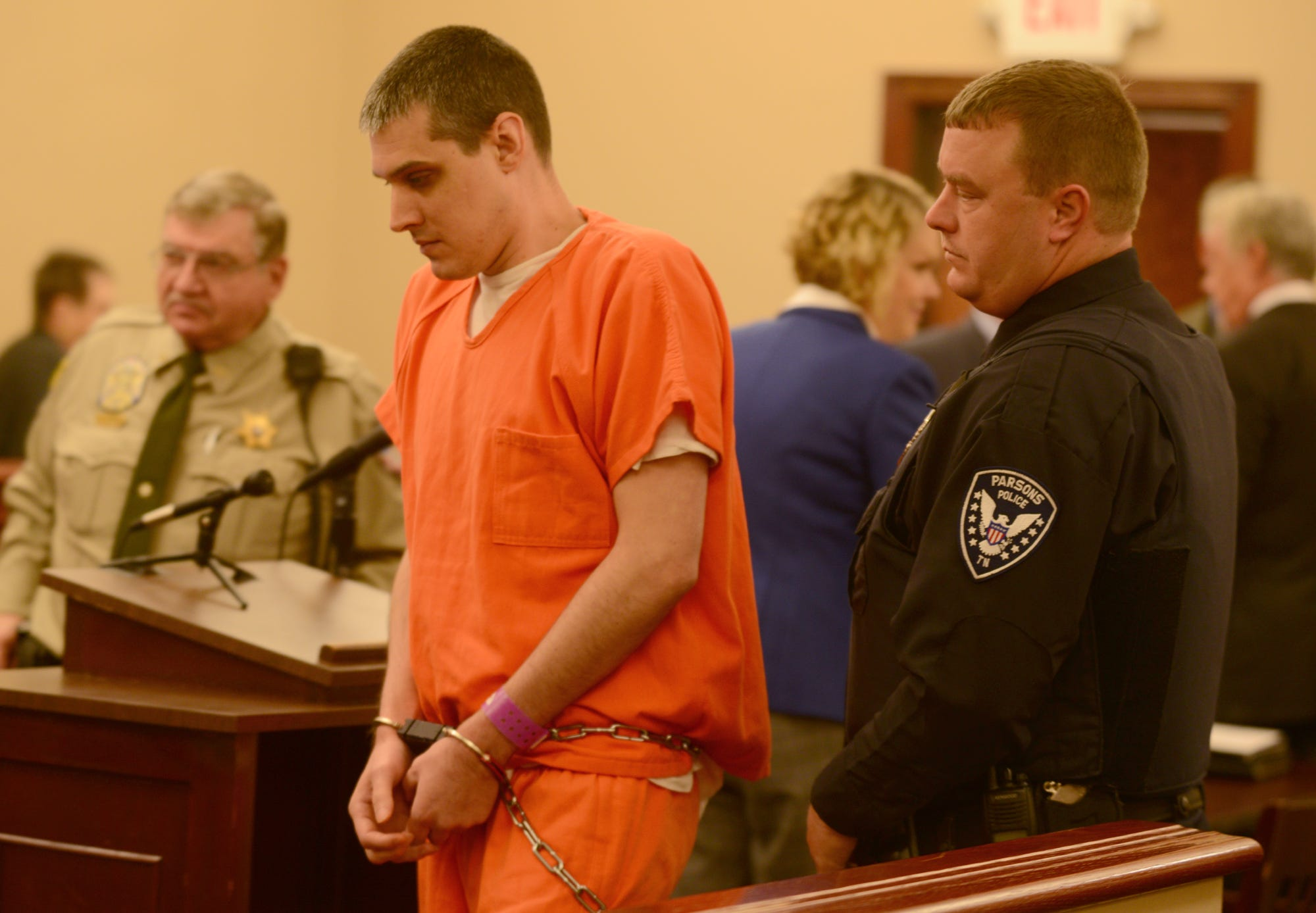 VIDEO: Zach Adams in Decatur Co. Court