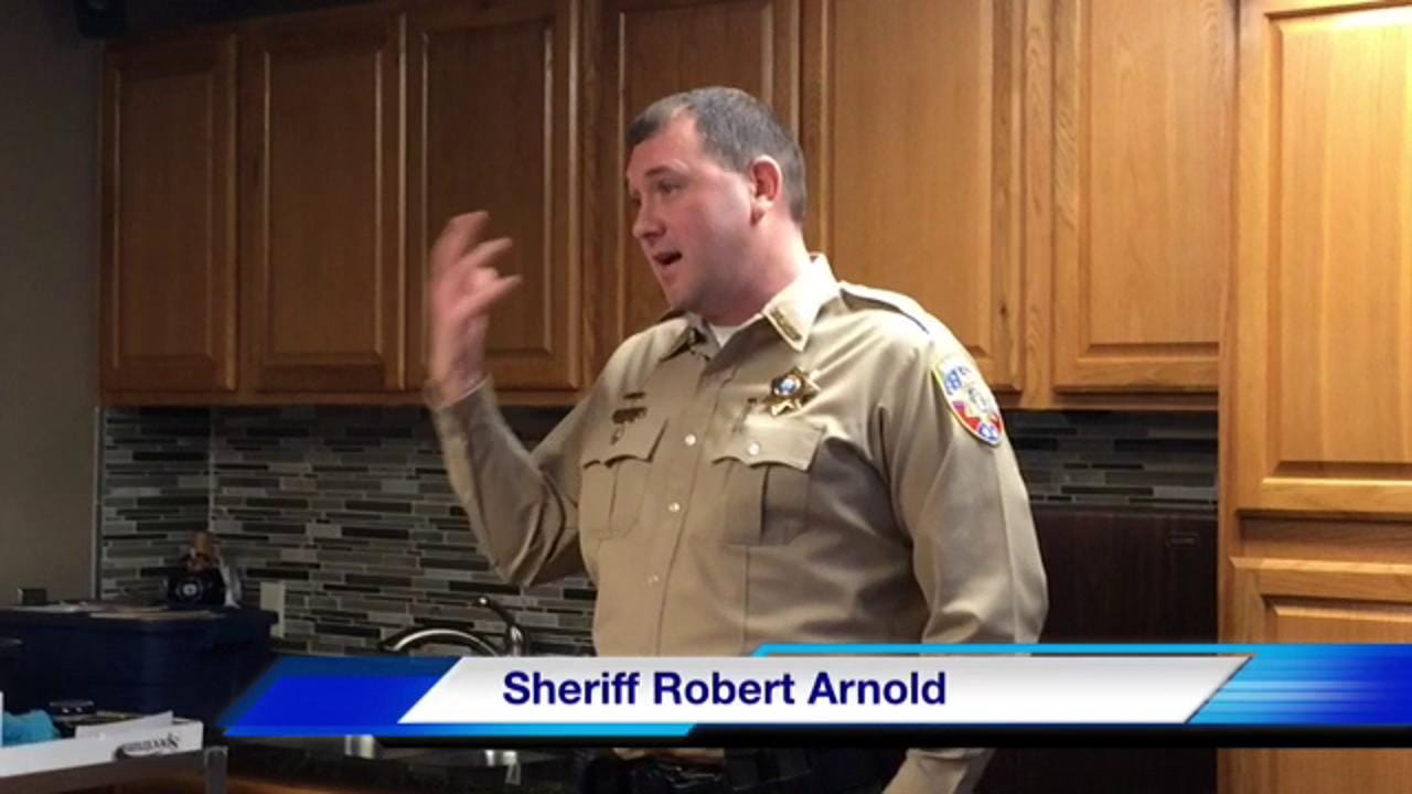 Sheriff Robert Arnold's Tuesday press conference