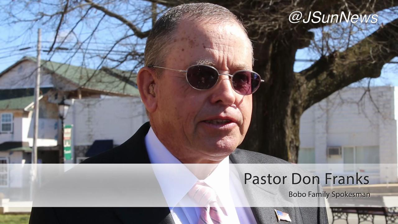 VIDEO: Pastor Franks issues statement on court hearing