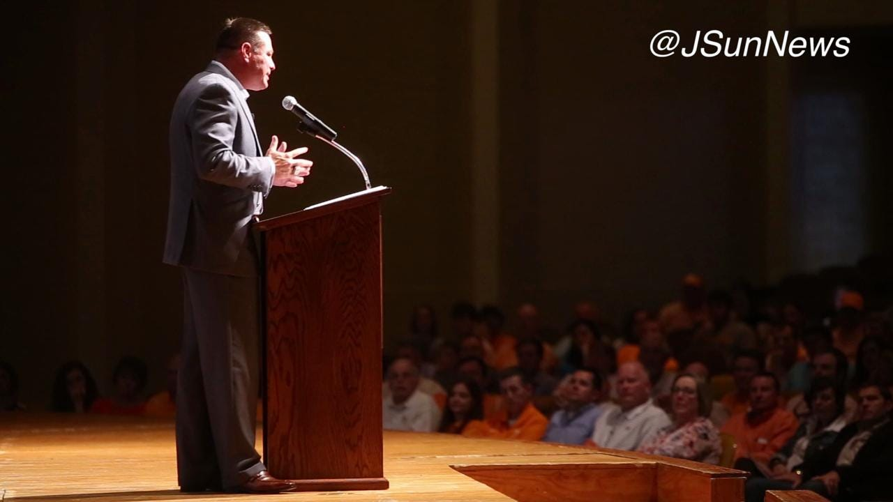 VIDEO: Butch Jones speaks grit and deliberate practice