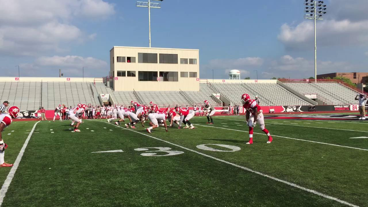 Offense puts in work at APSU spring game