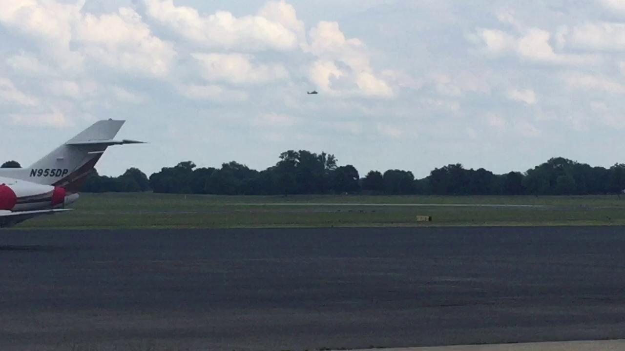 U.S. Navy Blue Angels plane goes down