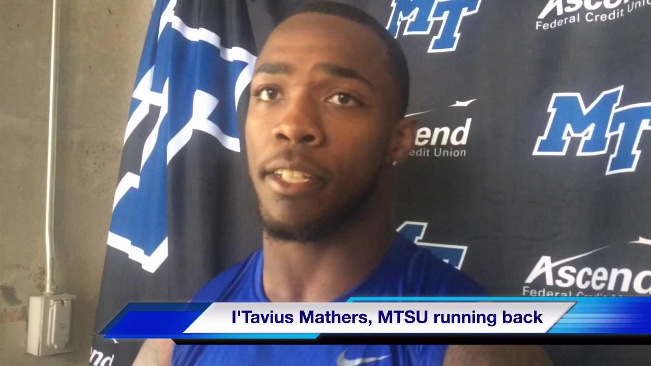 I'Tavius Mathers on historic day
