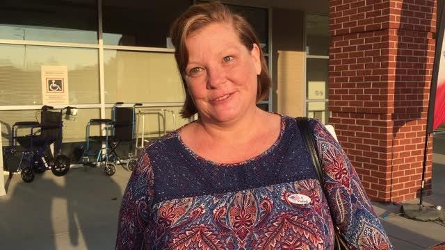 First Montgomery County voter encourages voting