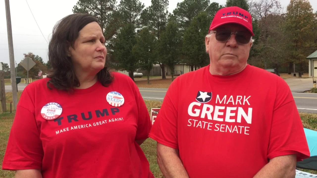 Trump supporters talk industry and opportunity