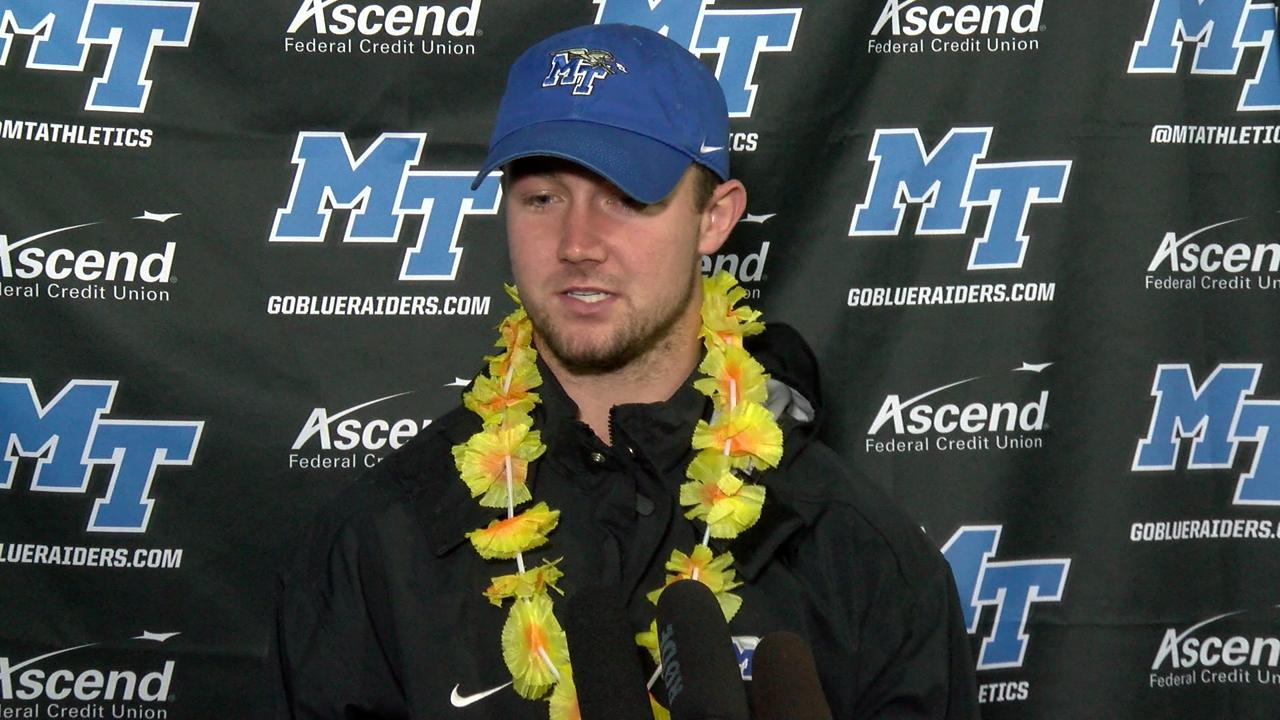 Brent Stockstill on upcoming Hawaii Bowl game