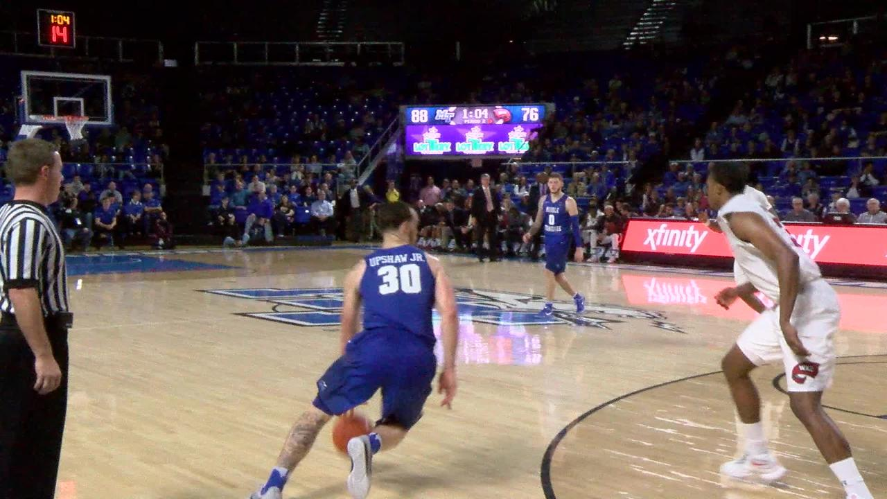 VIDEO: Tyrik Dixon deep 3-pointer from the top of the key
