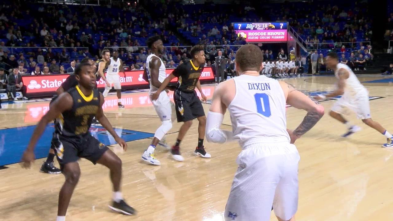 VIDEO: Tyrik Dixon last second shot
