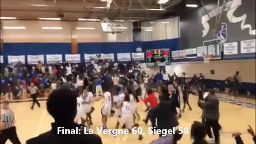 Video: La Vergne beats Siegel with buzzer beater