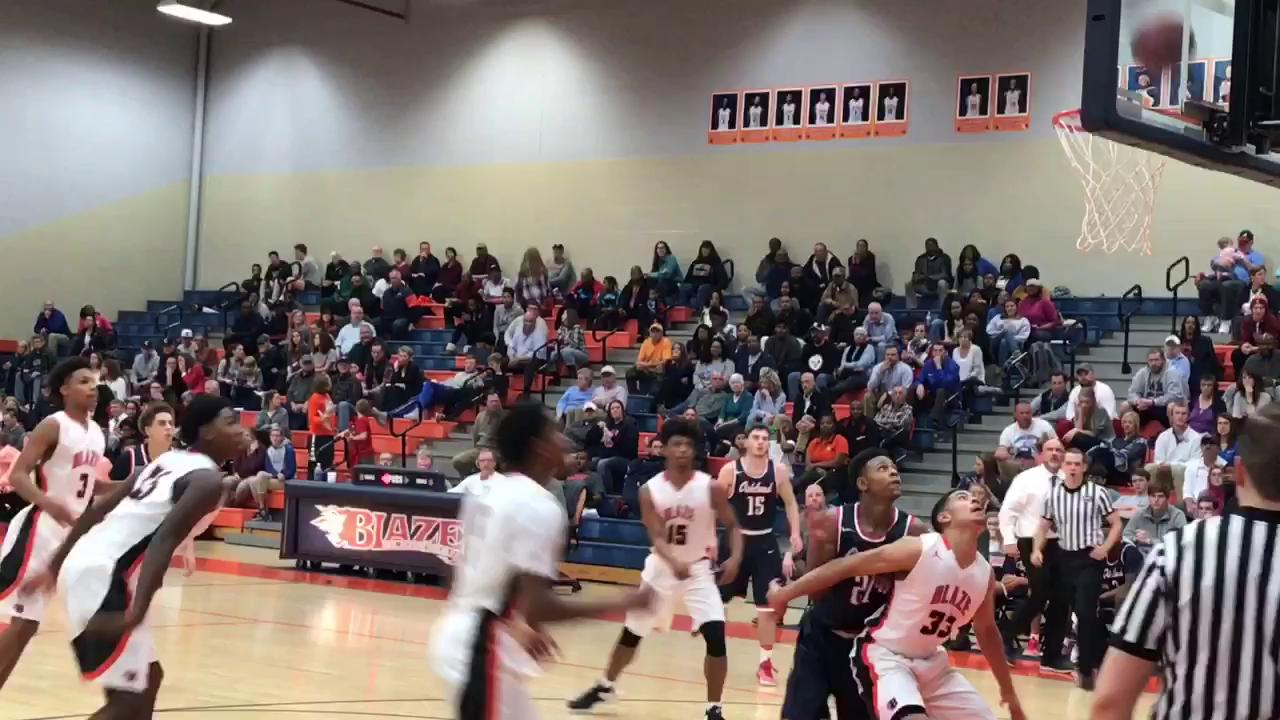 Video: Highlights from Blackman's 57-44 win over Oakland boys