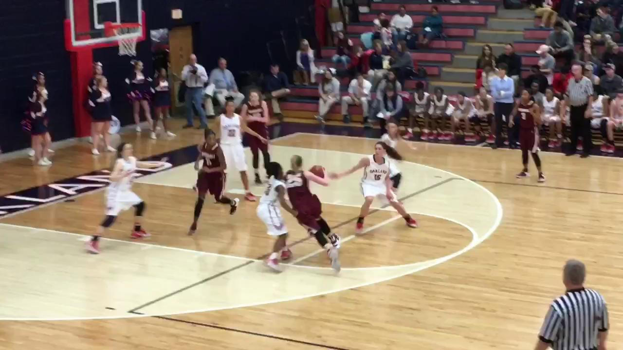 Video: Highlights of Riverdale girls' 64-41 win over Oakland