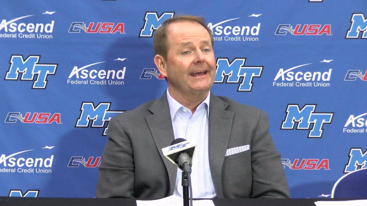VIDEO: Kermit Davis opening statement after Southern Miss win