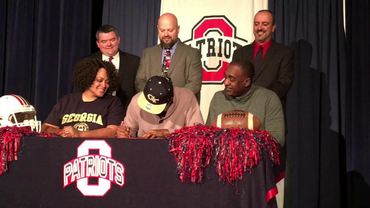 Signing day: Oakland's Kaleb Oliver