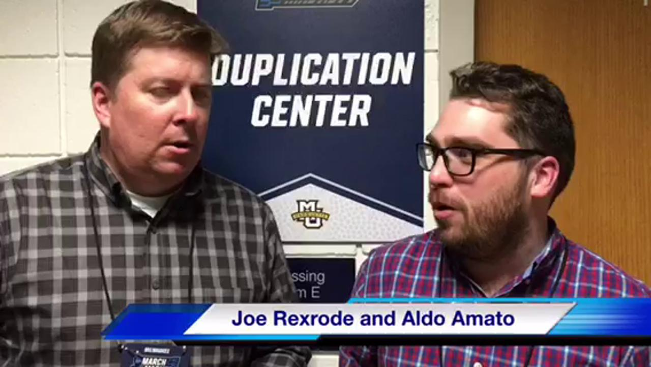 VIDEO: Aldo Amato and Joe Rexrode recap MTSU's NCAA tournament