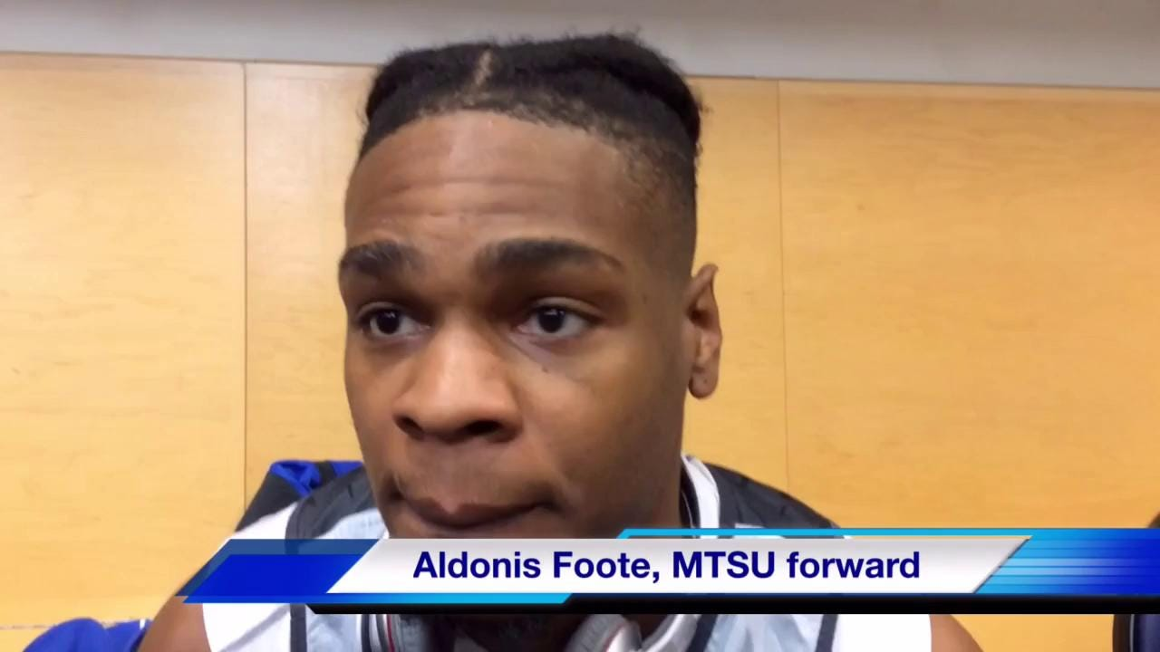 VIDEO: MTSU players talk NCAA Tournament in locker room