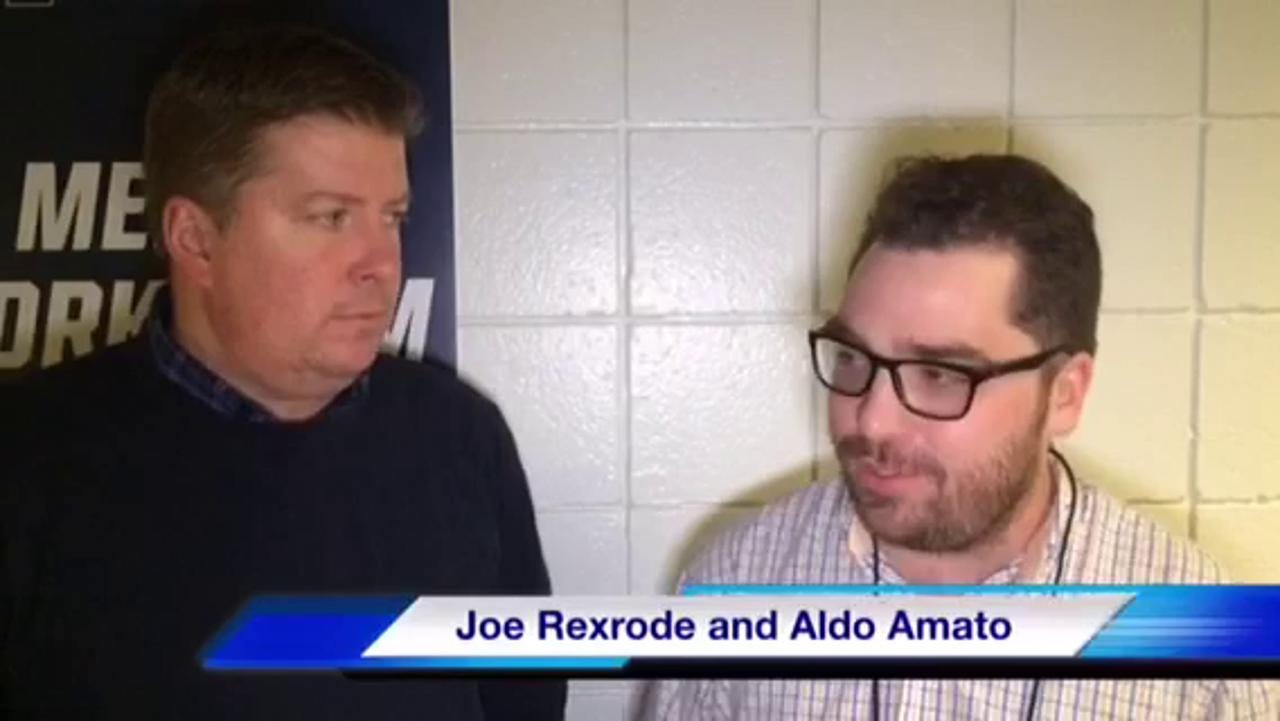 VIDEO: Aldo Amato and Joe Rexrode talk MTSU win