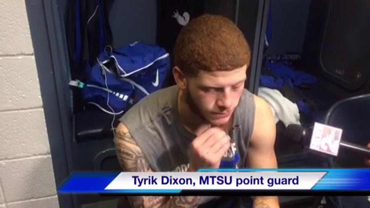 VIDEO: MTSU postgame vs. Butler