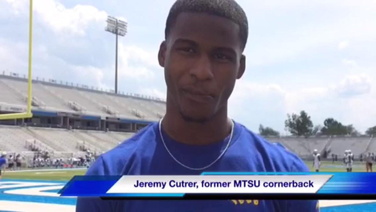 VIDEO: Jeremy Cutrer talks NFL draft process
