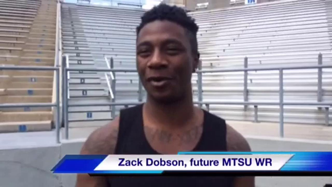 VIDEO: Zack Dobson talks MTSU football
