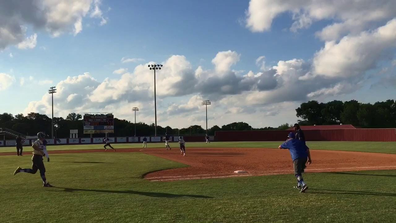 Hitting Key On Day 2 Of Baseball State Tournament