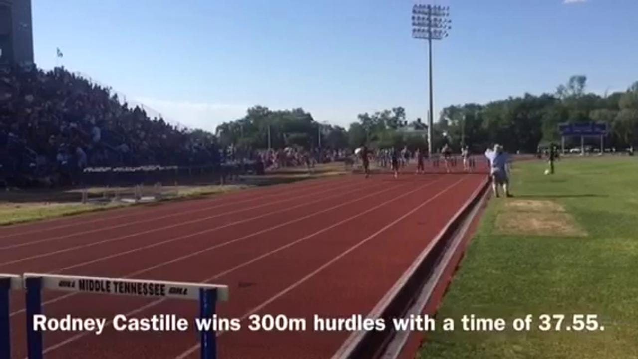 WATCH: Liberty's Rodney Castille wins state again