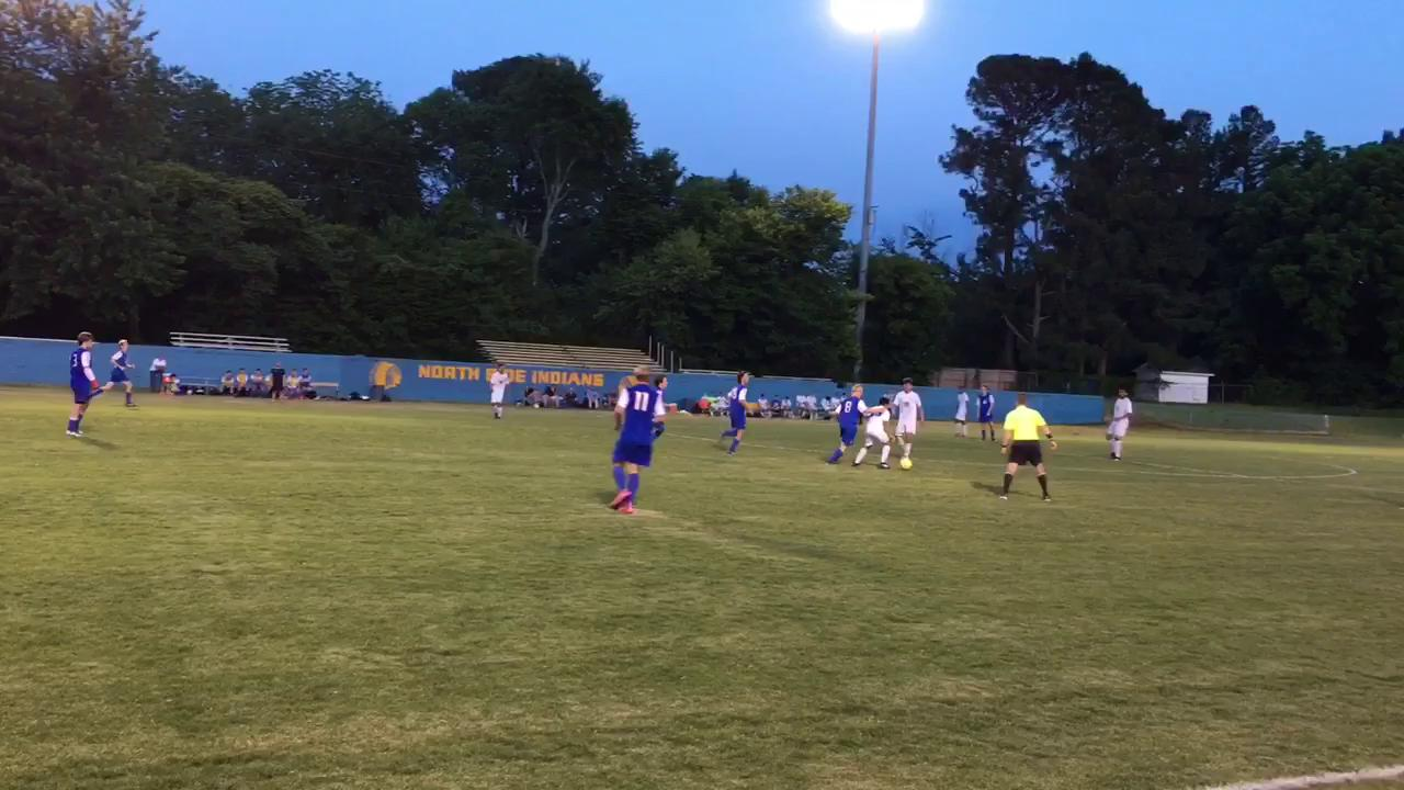 WATCH: Jackson Christian soccer upends North Side