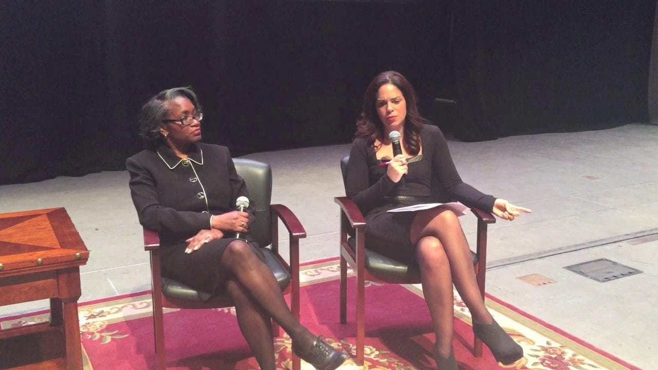 "Broadcast journalist Soledad O'Brien and Chuck D of Public Enemy fame discuss race fatigue and shaming during a press conference held Tuesday before the ""Black in America"" tour began at Purdue University."
