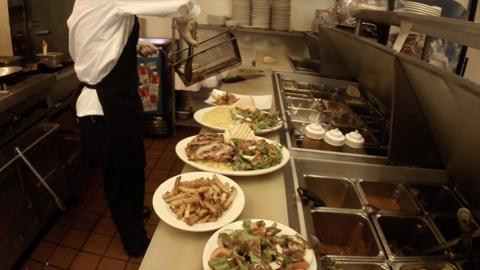 A look at what it's like to be in the kitchen of one of the Muncie area's top eateries during the lunch hour.