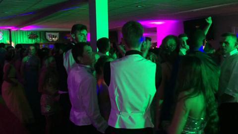 Northeastern High School had its prom April 30, 2016, at Hartley Hills Country Club in Hagerstown.