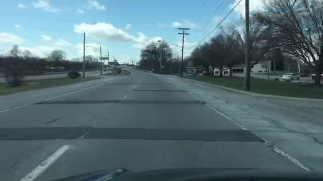 Take a ride on the bumps along US 40 before they are repaired.
