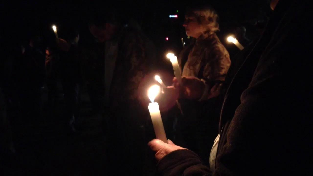 Vigil for Jeremy Mardis and Chris Few