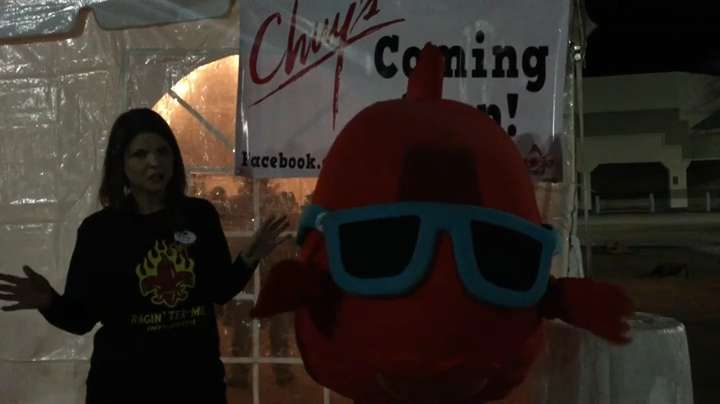 """Who wouldn't want to be a giant red fish?"" That's what the person wearing the costume exclaimed about the opportunity. Learn more about how a redfish became Chuy's mascot and the girl inside of the costume. Video by Megan Wyatt, The Advertiser."