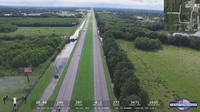 DRONE FLOODING VIDEO: Ambassador Caffery, I-10, and W. Willow