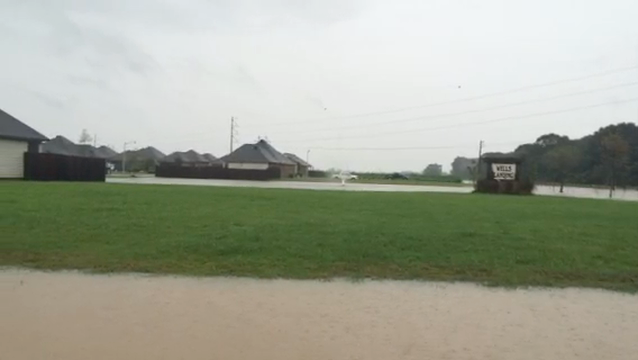 WATCH: Flooding on Detente Road