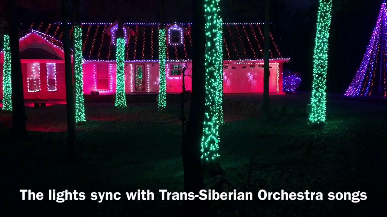 Monroe family wins world-class light display
