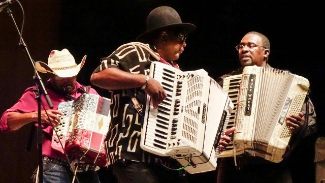 Festival opens with a rousing tribute to Buckwheat Zydeco