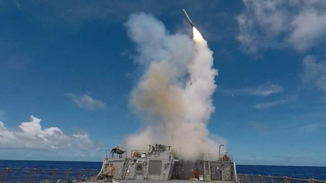 Russia Criticizes U.S. Missile Strikes on Syria