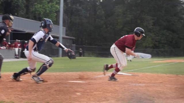 Pineville High School's baseball team takes on Northshore in a playoff matchup.