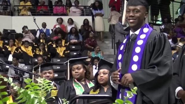 WATCH: NFL WR Chester Rogers graduates from Grambling