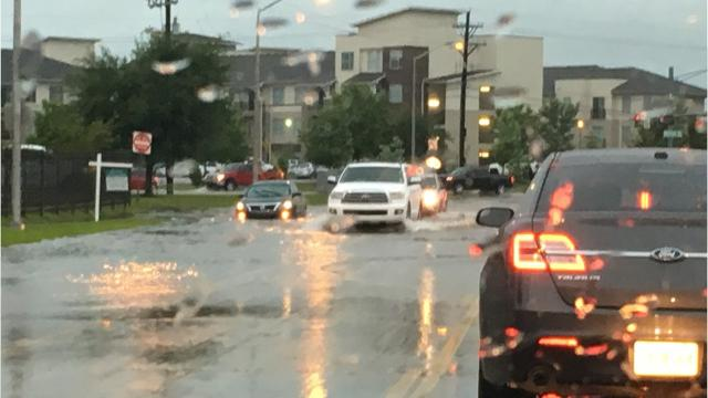 Scenes of flooding May 3