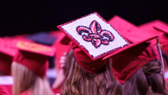 The coolest caps from UL's graduation day