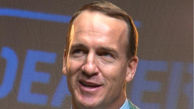 Peyton Manning reflects on his career during The Sports Awards