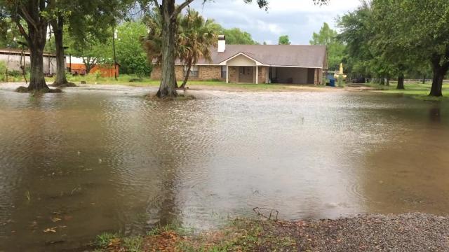 Flooding in Lafayette Parish