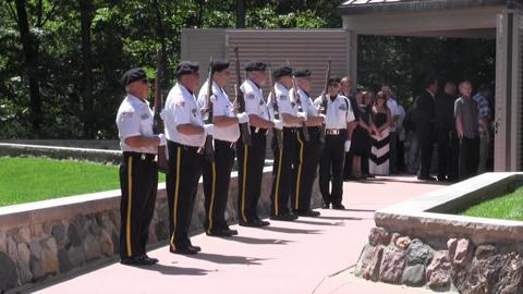 AUGUSTA — The Fort Custer National Cemetery Honor Guard escorts soldiers to their final resting places. Hear about why they do it. (Andy Fitzpatrick/Battle Creek Enquirer)