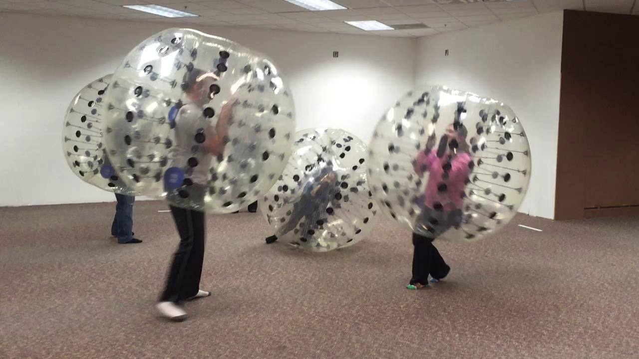 An inside look at a game of Knockerball at Michigan Thumb Knockerball