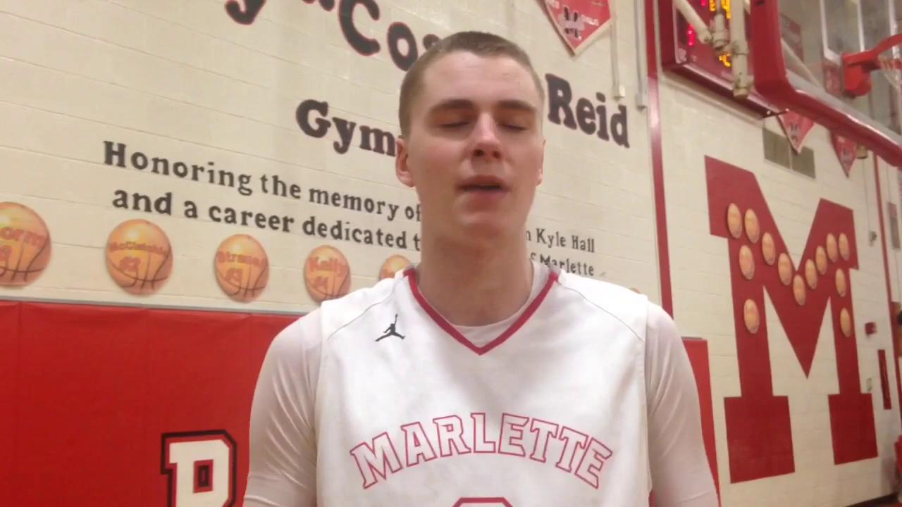 Andrew and Chris Storm talk Marlette's 64-51 win over Brown City
